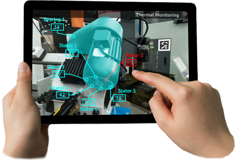 Augmented Reality Self Service Platform for maintenance