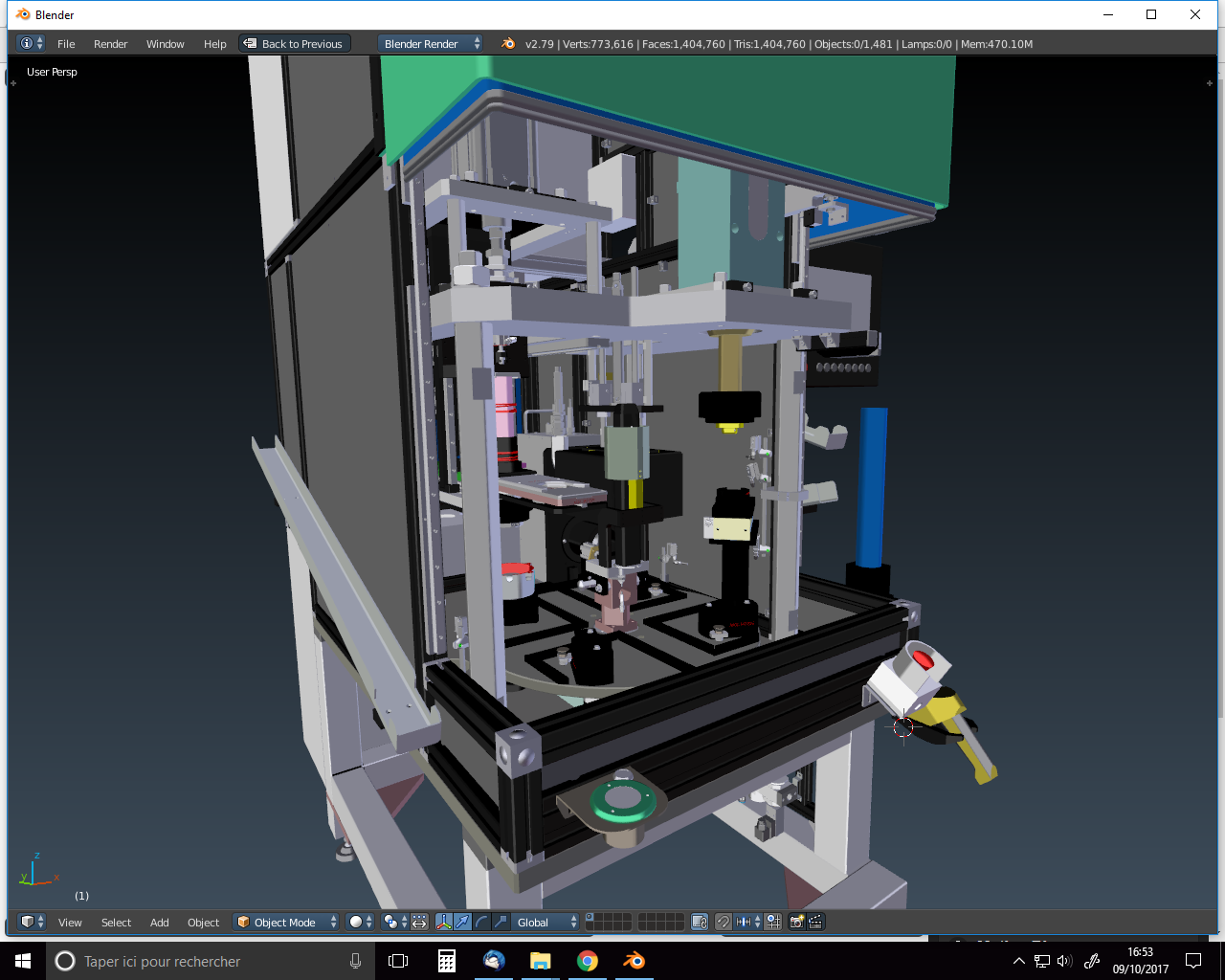 CAD Model for Augmented Reality