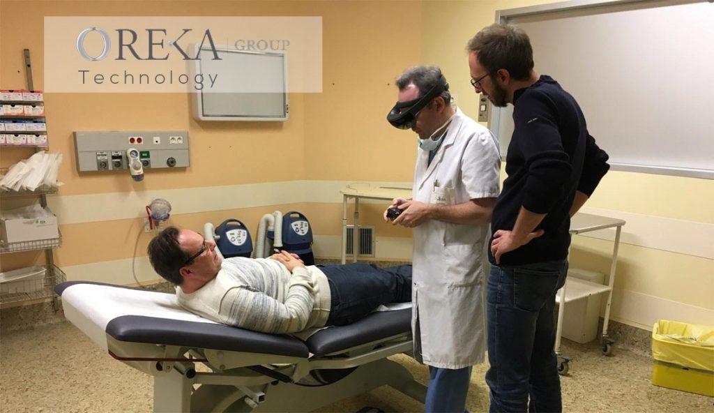 Application médicale de réalité augmentée