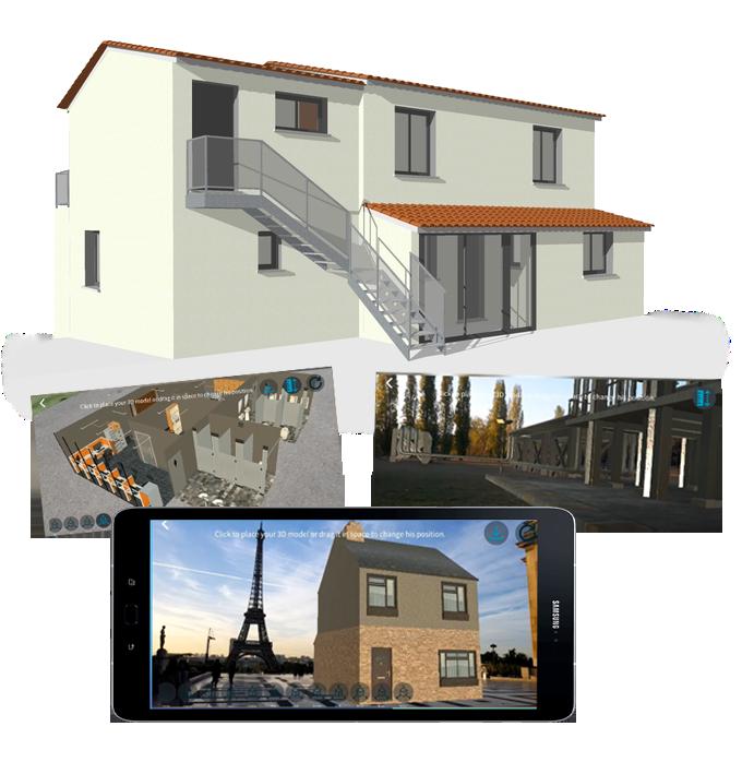 Réalité augmentée immobilier - AR Real Estate