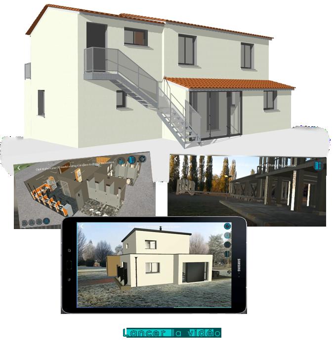 Réalité augmentée BIM immobilier