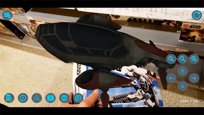 Plateforme de réalité augmentée Simply AR