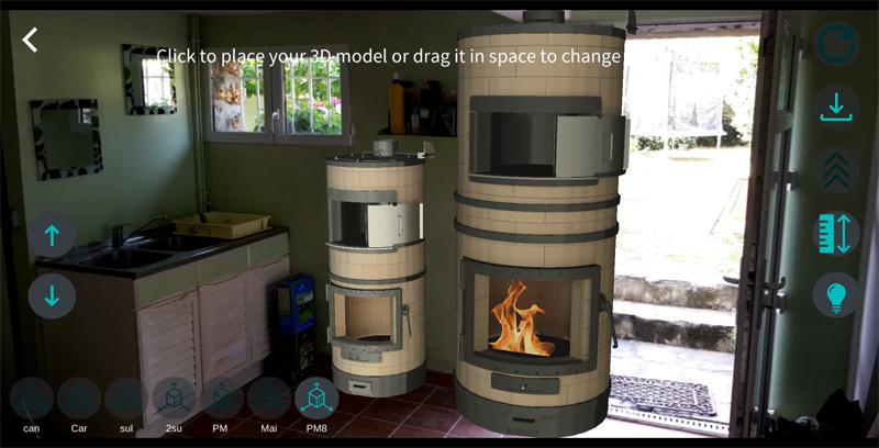 Aide à la vente avec la réalité augmentée