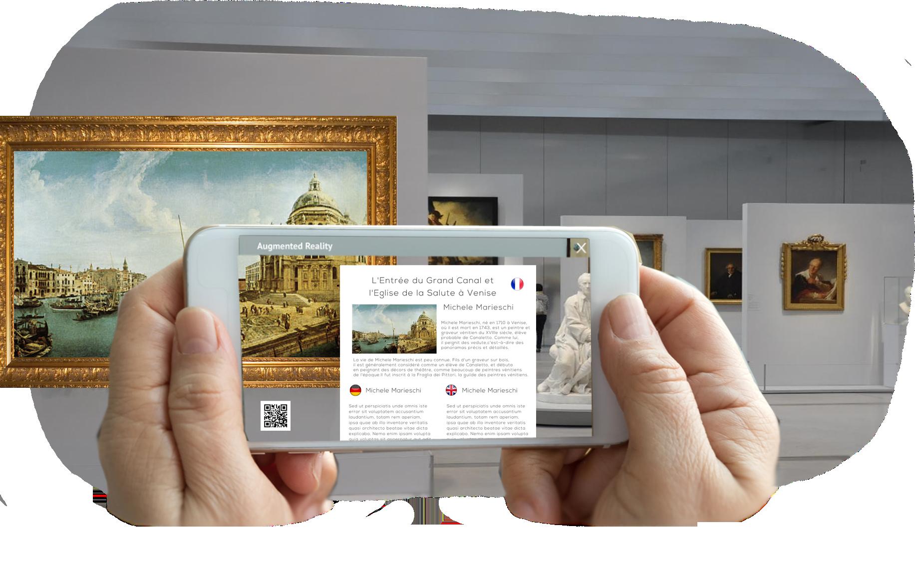 musée en réalité augmentée